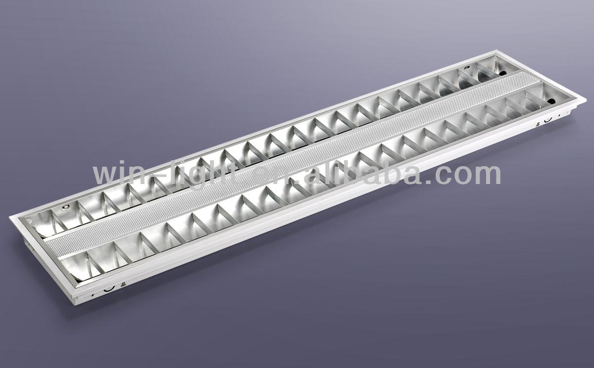 Recessed fluorescent light fixture120cm ceiling mounted grid recessed fluorescent light fixture120cm ceiling mounted grid light fixture mozeypictures Images