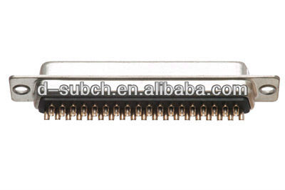 9.15.25.37.50pin male or female d-sub solder type connector