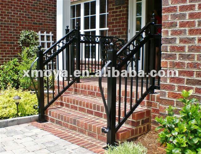 modern iron balcony railings designs outdoor hand railings. Black Bedroom Furniture Sets. Home Design Ideas