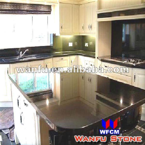 Big Size Kitchen Black Granite Island Table Buy Kitchen