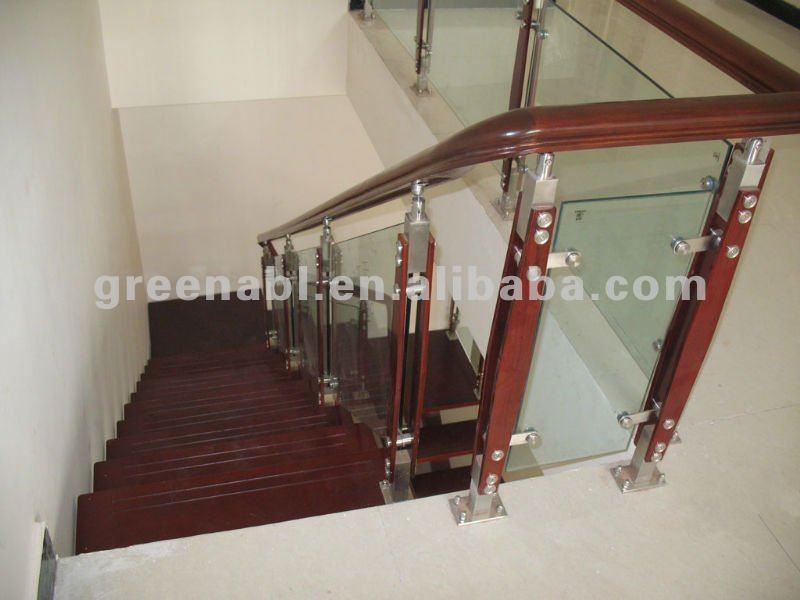 Stainless Steel Wood Stair Handrail Buy Stair Handrail