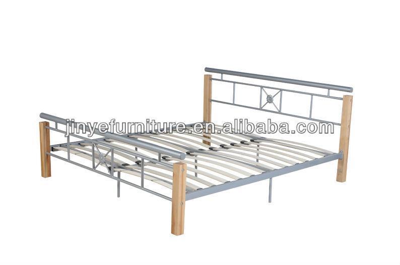 Simple Modern Metal Beds : Modern Style Simple Design Metal Queen Bed - Buy Simple Design Metal ...