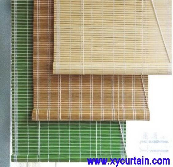 Bamboo sun shade mini roller blind buy bamboo blind for Bamboo roller shades ikea
