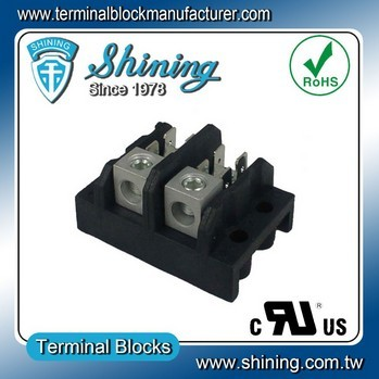 TGP-050-02A Power Distribution 50A Multi Pole Terminal Block