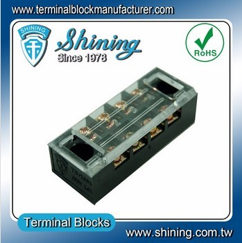 TB-2504L M4 Screw 25A Fixed Barrier 4 Pin Shorting Terminal Block