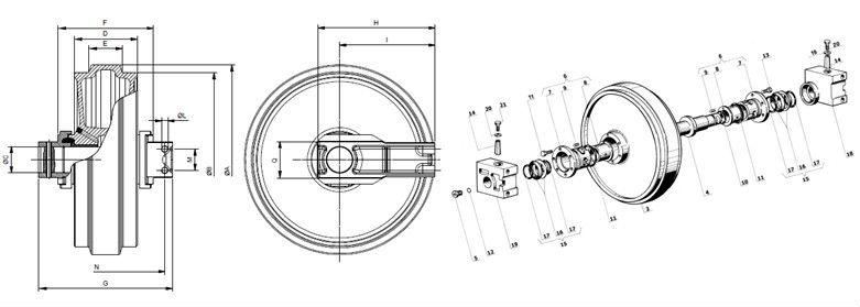 case dozer wiring diagram