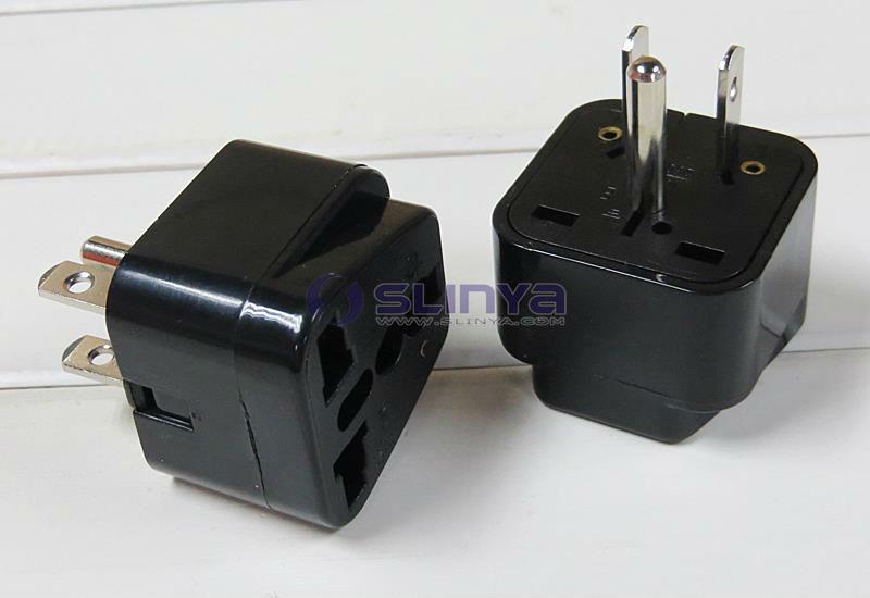 European To American Plug Adapter 220v Usa Plug View