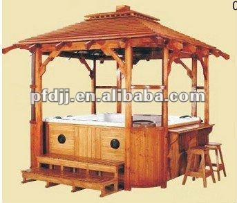 durable outdoor pavilion wooden garden gazebo buy wooden. Black Bedroom Furniture Sets. Home Design Ideas