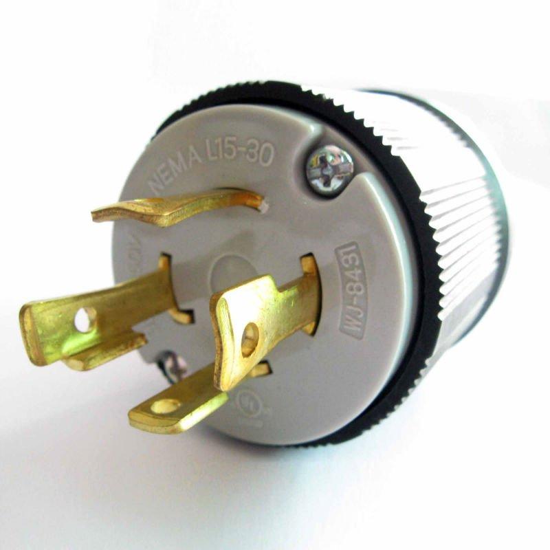 Nema L15-30 Locking Grounding Plug - Buy Locking Grounding Plug,Nema on