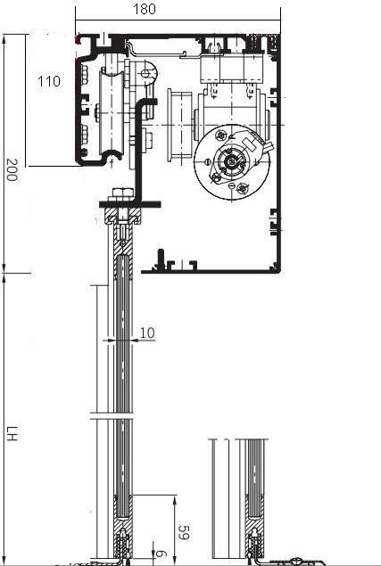 Automatic sliding glass door mechanism buy