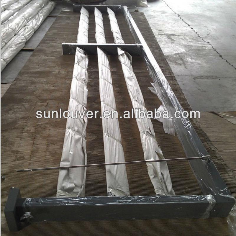 external louver sun control louvre shading louver aluminum view
