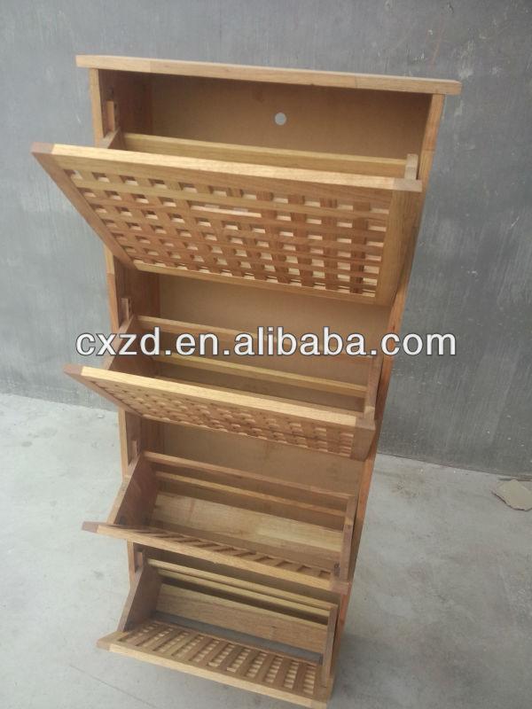 fabrication approvisionnement armoire de toilette meuble chaussures en bois avec 4 tiroirs. Black Bedroom Furniture Sets. Home Design Ideas