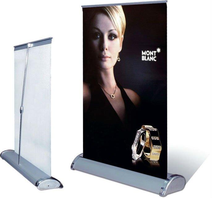 Mini A4 A3 Desktop Table Banner Display Mini Roll Up