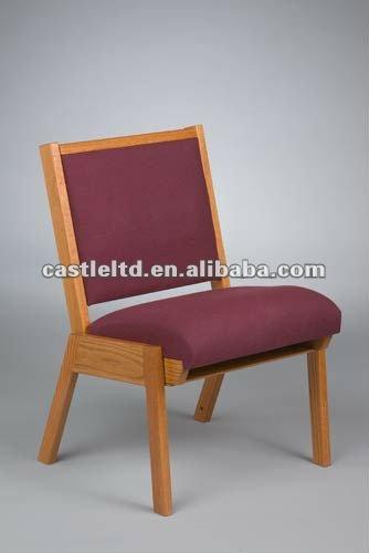 Iglesia p lpito sillas respaldo alto plataforma silla for Sillas para iglesia en madera