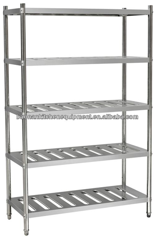 Heavy Duty Stainless Steel Kitchen Storage Rack Vegetable Shelving Rack For Restaurant Buy