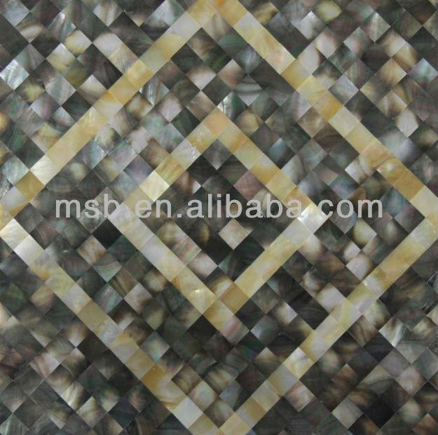 Mx013s Abalone Shell Mosaik Fliesen Perlmutt Muschel Mosaik Panel