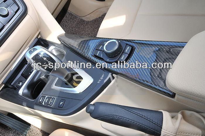 Carbon Fiber Interior Dash Kit F30 Sticker Interior Trim Lhd Dashboard Parts For Bmw F30