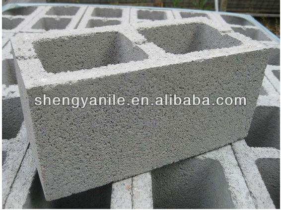 shengya block machine factory sy520 retaining wall blocks machine for sale