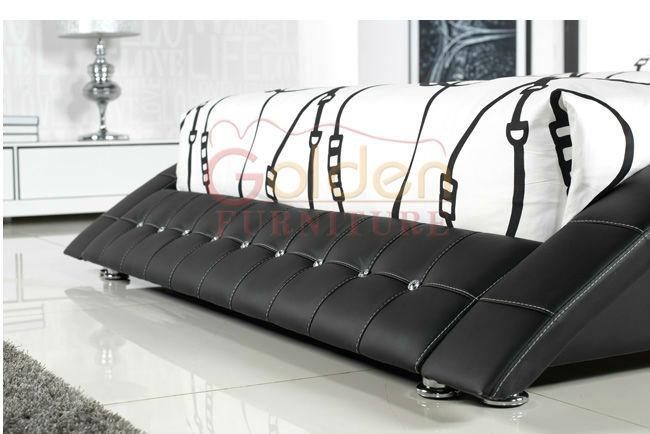 Nouveau B2780 Plateforme Moderne Canape Lit King Size