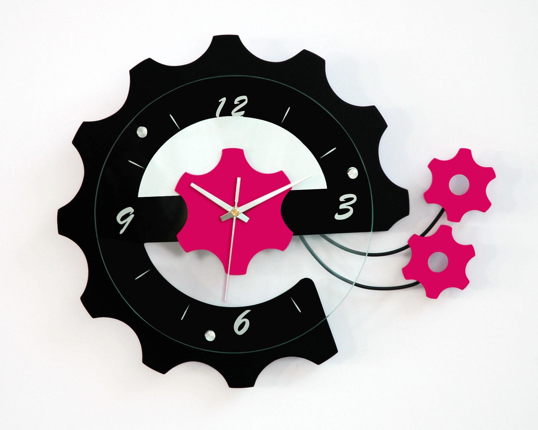 Latest Design Decorative Atomic Mute Wall Clock Whole