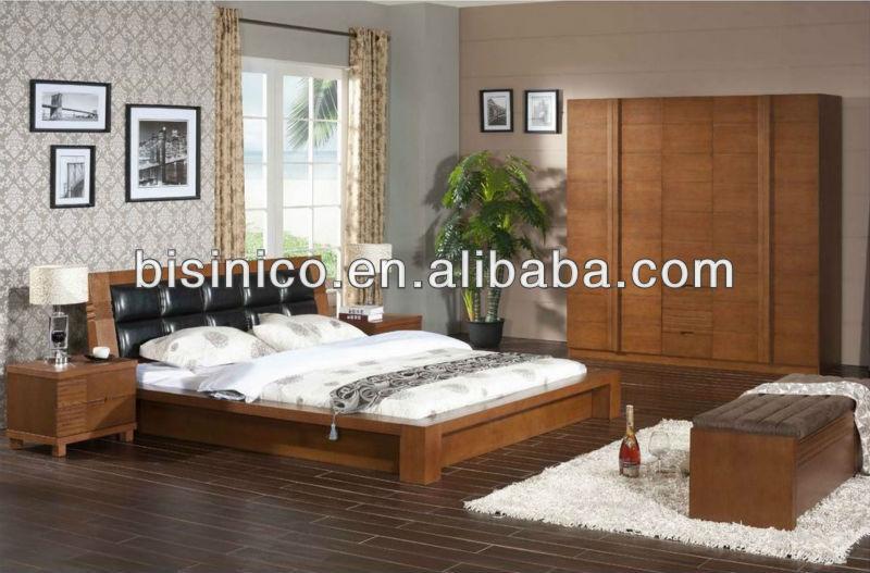 Camera Da Letto Legno Naturale : Contemporaneo camera da letto in legno massiccio letto di