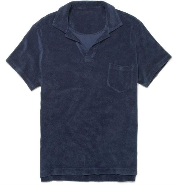 Cotton terry terry cloth fabric polo shirt wholesale buy for Terry cloth polo shirt