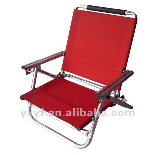 Pliable Bas Plage De Sige Chaise Avec Rglable Positions