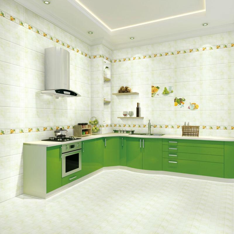 Superb Nano Super Glossy Plastic Wall Tiles Green White Mix China Supplier Kitchen  Wall Tile Patterns