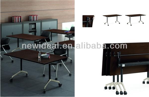 moderno mobiliario de oficina escritorio de oficina escritorio de la computadora de mm plegadora nh