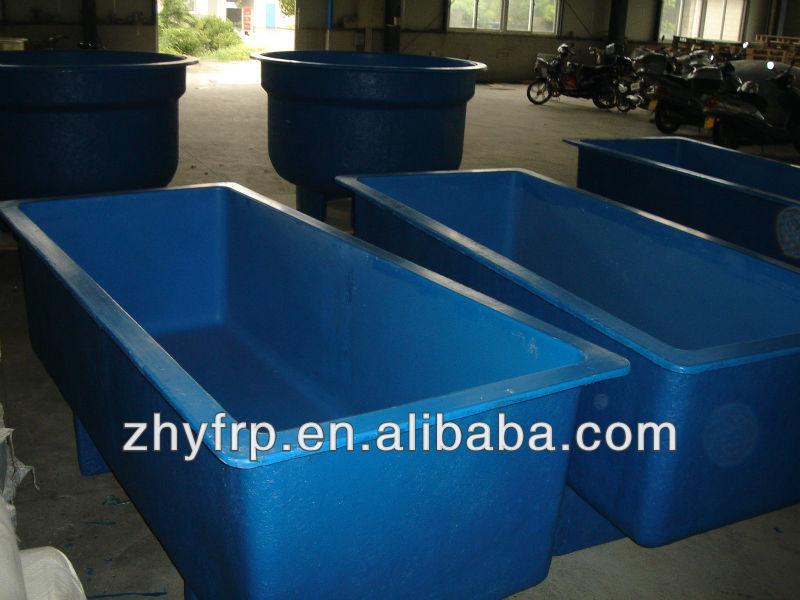 Frp serbatoio di pesce per interni allevamento ittico for Vasche vetroresina per laghetti
