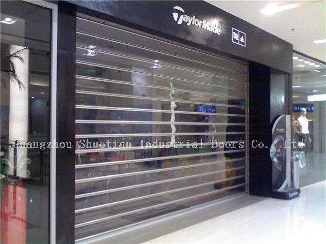 Aluminium alloy automatic roller shutter door buy