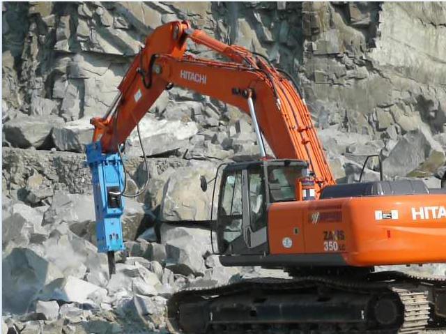 Excavator mounted breaker buy hydraulic concrete