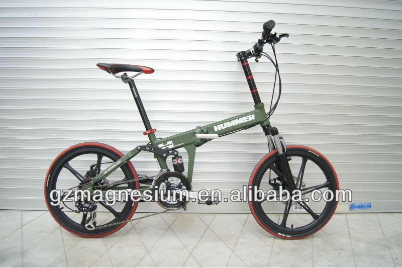 Magnesium Die-Casting Folding Bike 20inch, View Magnesium ...