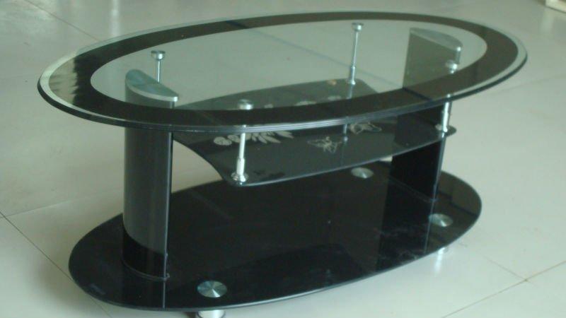 couchtisch glas oval. Black Bedroom Furniture Sets. Home Design Ideas