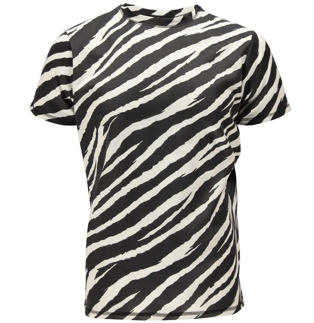 Zebra shirt design - Full Sublimation T Shirt With All Over Zebra Print