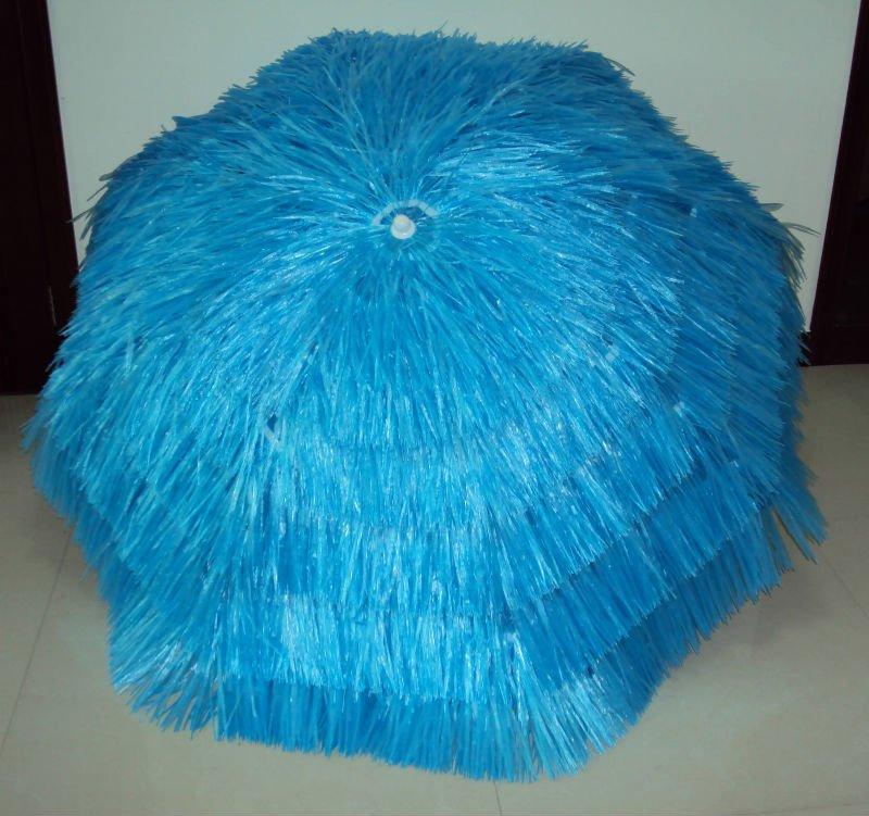 180cm Diameter Hawaii Raffia Straw Umbrella