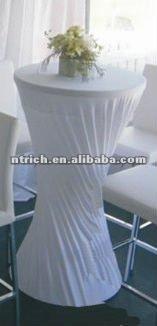 Elegant Charming Lycra Spandex Tail Bar Table Cloth Cover
