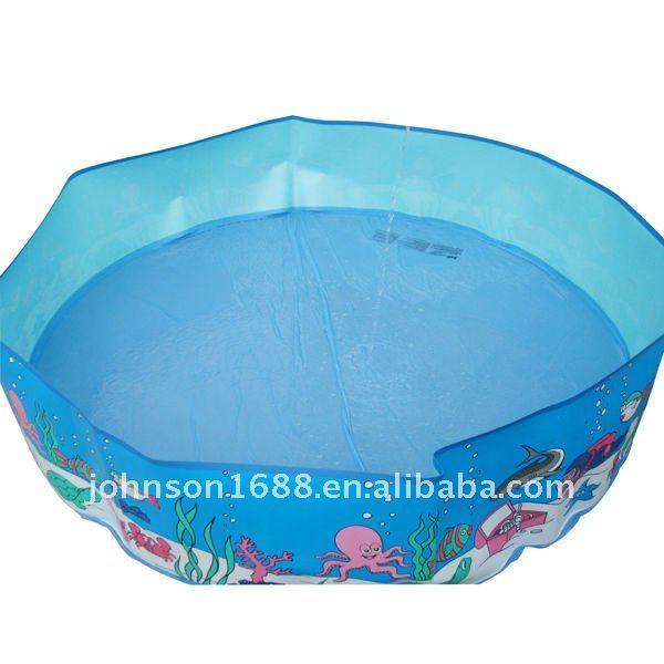 piscina de plastico duro para ninos