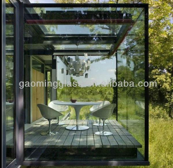Prefabricados Casa De Cristal Jard 237 N Terraza Acristalada