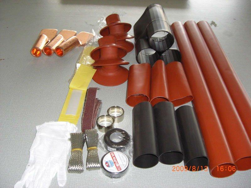 High Voltage Terminations : Heat shrinking termination kits buy shrinkable