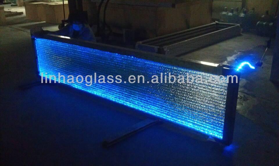 Glow Lumineux Comptoir De Bar,Longues Verre Table De Bar,Led Bar ...