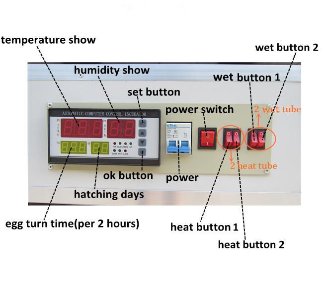 hot sale digital temperature automatic computer eggs incubators rh alibaba com egg incubator wiring diagram egg incubator circuit diagram