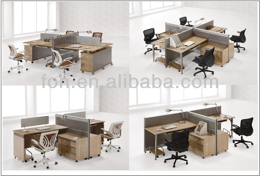 custom design office modular cubicle workstation furniture fohp26143