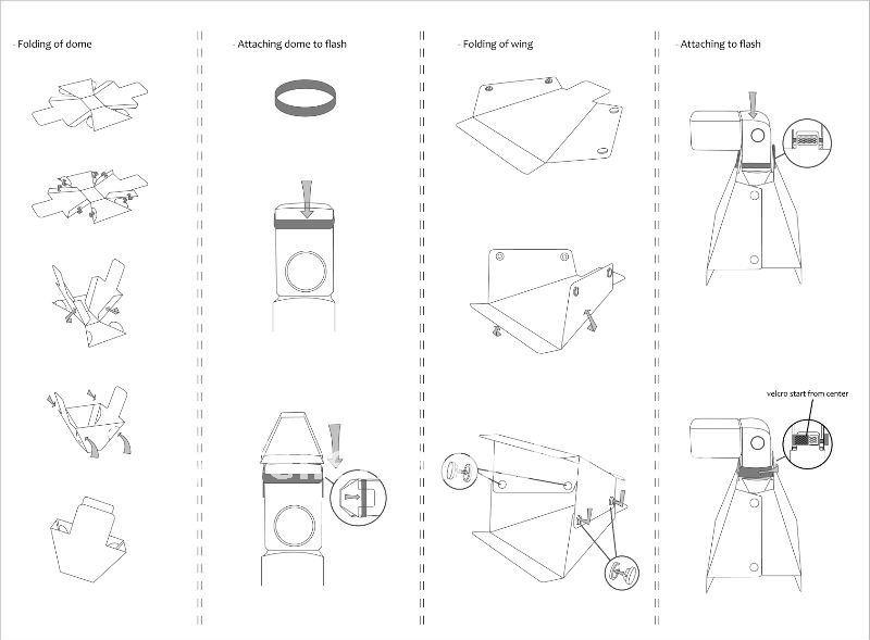 Photographic Equipment Mf20136 Mini Flash Diffuser Softbox