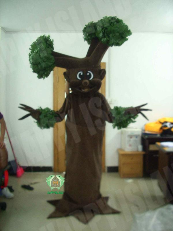 Hi En71 Funny Cartoon Adult Palm Tree Costume Buy Palm