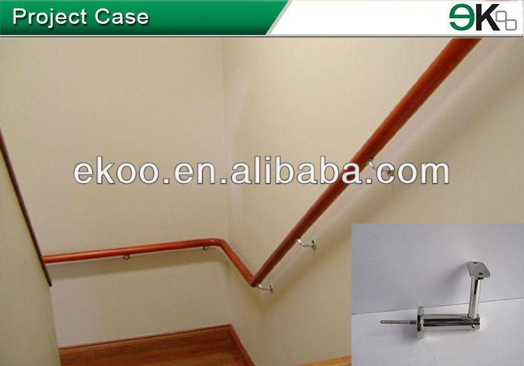 Stair Handrail Bracket/stainless Steel Brackets/decorative Wood Wall Bracket