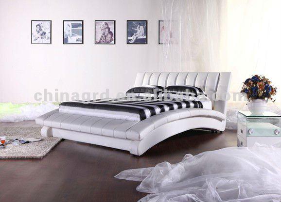 Moderno Elegante Blanco Y Negro Muebles Juego De Dormitorio Italiano ...