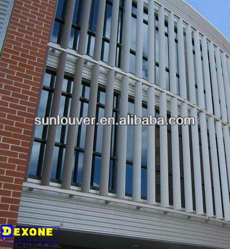 Building Sun Shade Aluminium Louvers Buy Sun Shade
