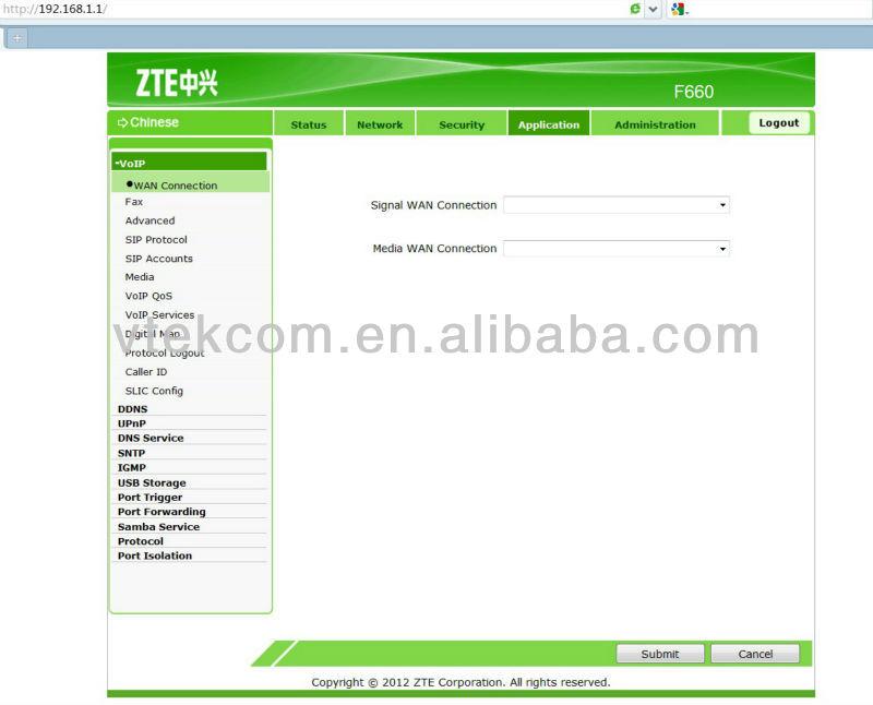 Zxhn f660 user manual