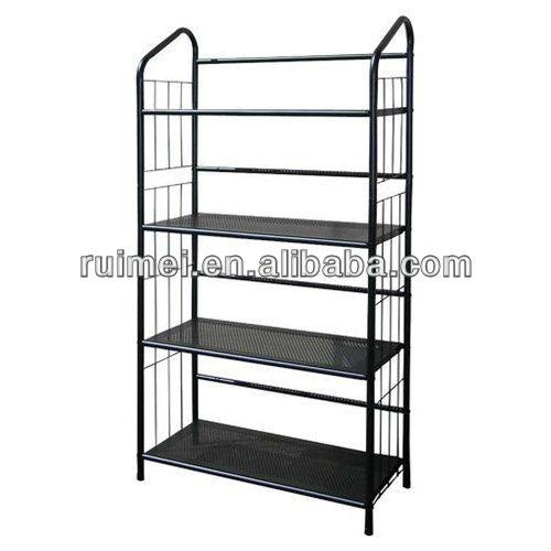 345 Tiers Metal Book Shelf Book Case 5 Tier Metal Book Shelves